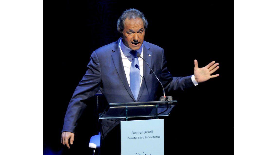 Scioli: Preocupa que, a pesar de sus compromisos, no van a eliminar ganancias