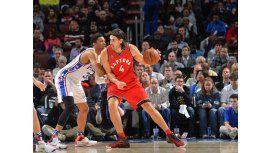 Gran noche de Scola y Ginóbili en los triunfos de sus equipos en la NBA
