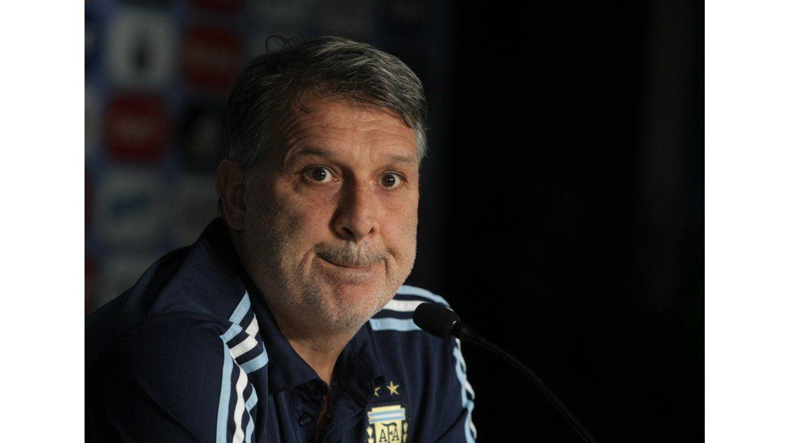 Martino entregó una primera lista con 57 jugadores para Río 2016