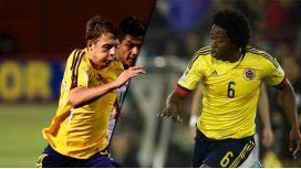 Colombia, con dos bajas de cara al partido ante Argentina