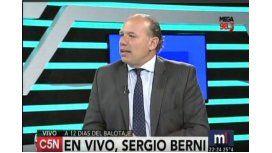 Berni: Macri endeudó la Ciudad