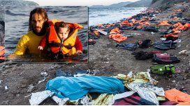 Un argentino rescata refugiados en Europa: Viví cosas desesperantes