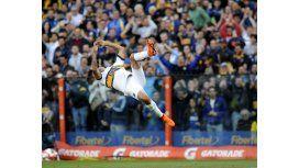 El gol del título: mirá el cabezazo de Monzón ante Tigre