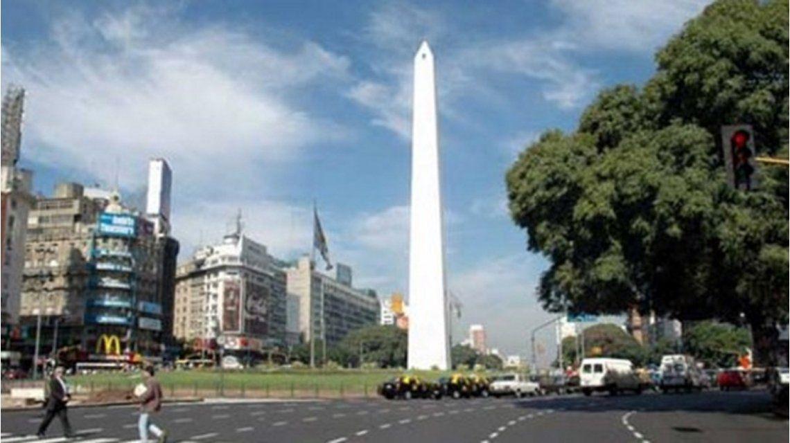 La sensación térmica alcanzó los 40 grados en Buenos Aires