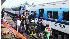Así fue el terrible accidente de la tragedia de Once