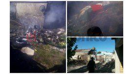 Tragedia en el patio de una casa: cayó una avioneta y murieron los dos pilotos
