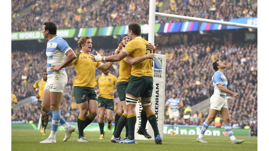 Los Pumas dejaron todo pero cayeron ante Australia y se despidieron del Mundial