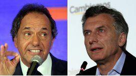 Scioli propuso debatir y Macri dio el visto bueno: sería el 15 de noviembre