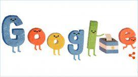 Google se sumó a la elección con un doodle