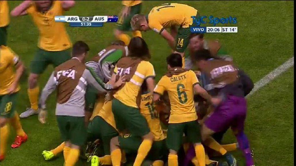 Argentina cayó ante Australia y quedó afuera del Mundial Sub 17 en primera ronda