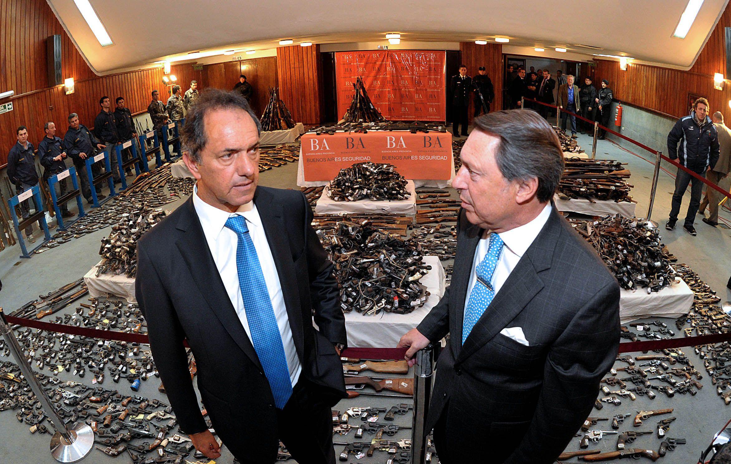 Scioli defendió a Casal y dijo que dejó los recursos necesarios en seguridad