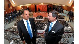 Scioli defendió la gestión de Casal