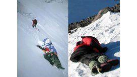 Un cementerio helado: Hay más de 200 cadáveres en el Everest y se usan de señal