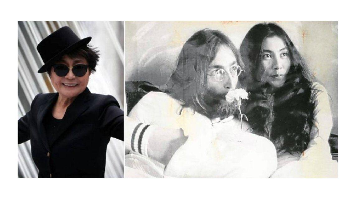 Internaron de urgencia a Yoko Ono , la viuda de John Lennon, en Nueva York