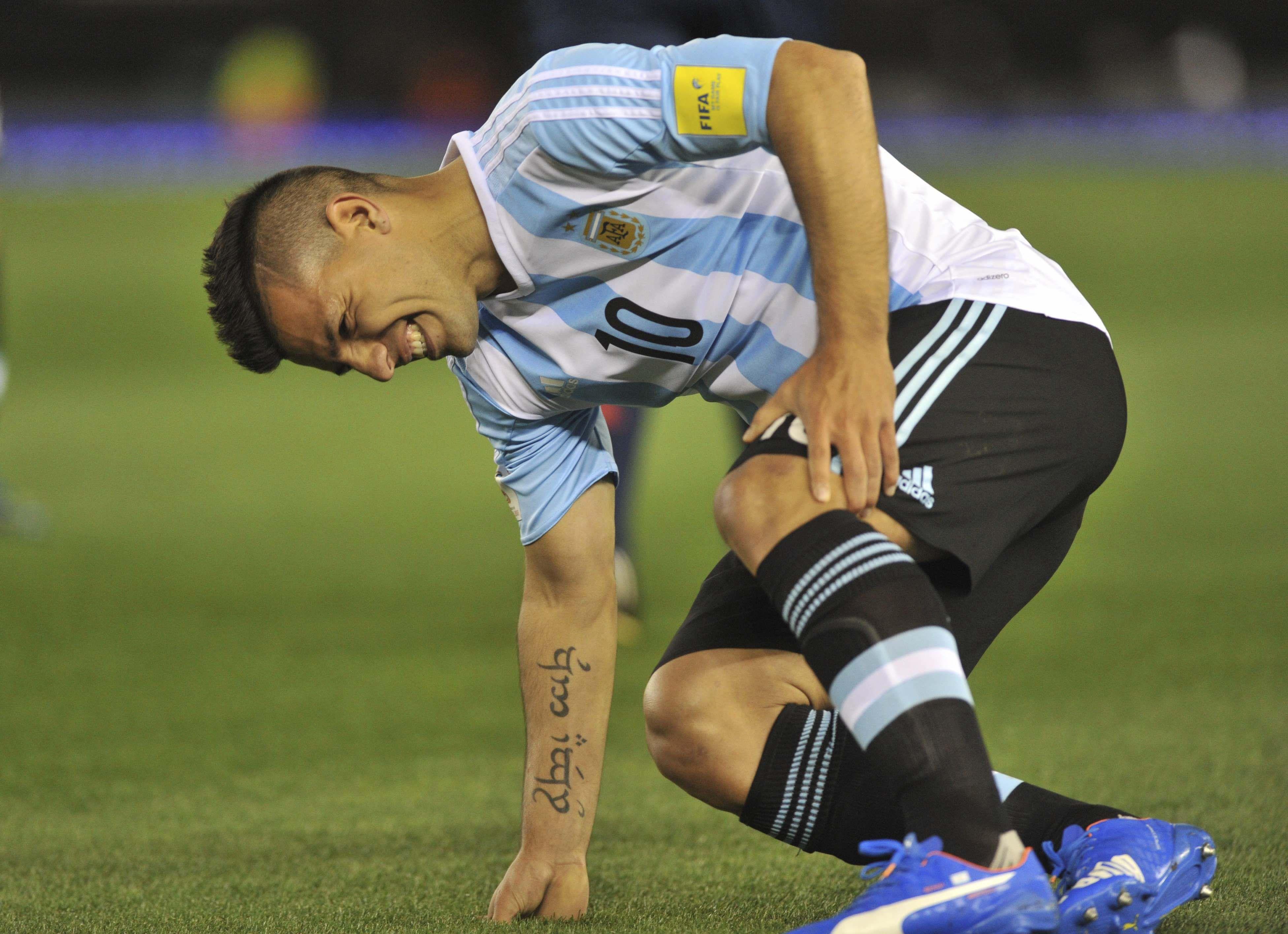 El Kun es el cuarto goleador histórico de la Selección argentina.