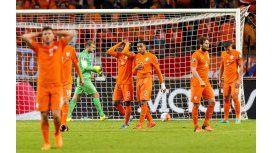 Sorpresa: Holanda perdió y no clasificó a la Eurocopa 2016