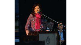 Cristina cuestionó la hipocresía y el cinismo permanente de Clarín