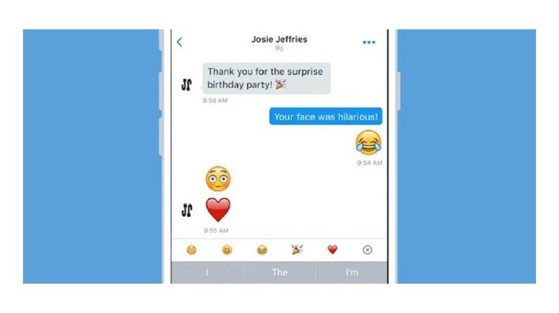 Twitter: ahora se pueden enviar emojis gigantes por mensaje directo