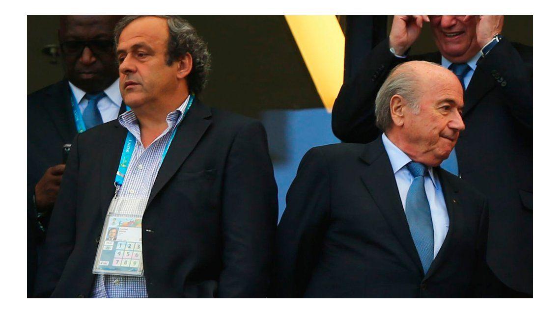 #FIFAGate: Blatter y Platini fueron suspendidos por ocho años
