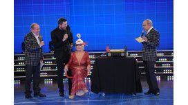 Momento tenso entre Chiche Gelblung y Solita en ShowMatch