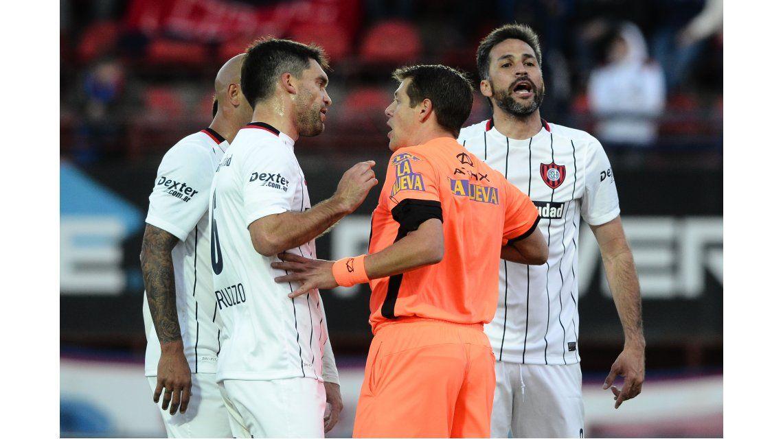 Delfino explicó sus fallos en el partido entre Tigre y San Lorenzo