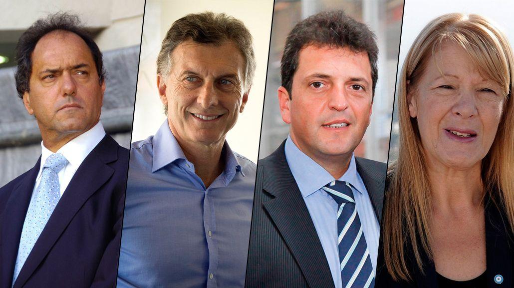 Scioli, Macri, Massa y Stolbizer estarán presentes en el Coloquio de Idea