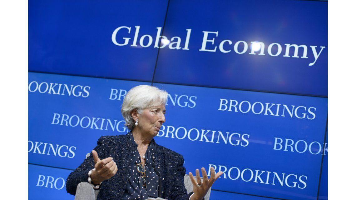 Lagarde consideró que las negociaciones con buitres son alentadoras