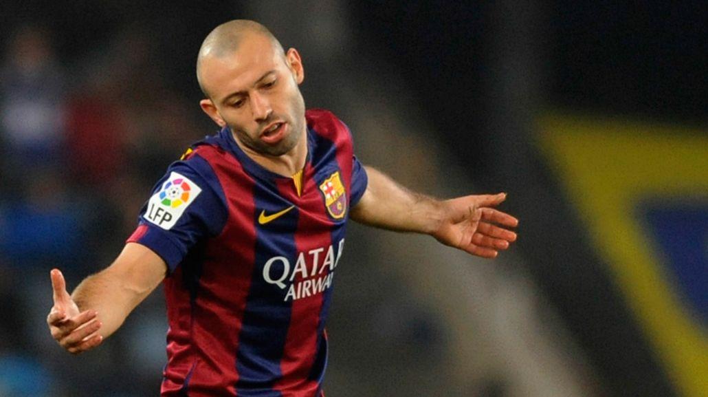 Mascherano se iría de Barcelona en junio
