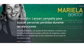 Campaña para buscar personas perdidas