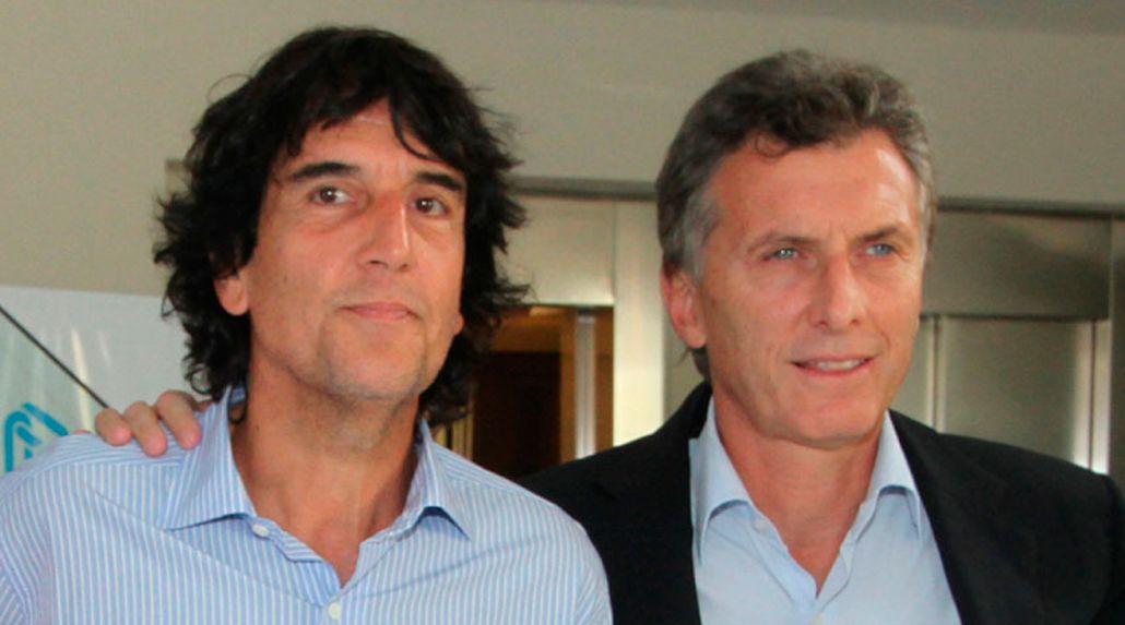 <p>Carlos Melconian y Mauricio Macri</p>