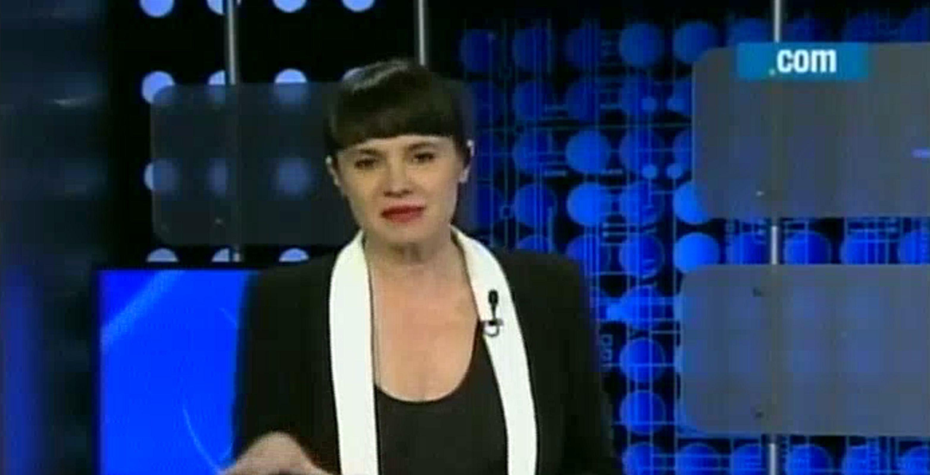 Gisela Marziotta debutó al frente de Ámbito de Poder en la pantalla de C5N