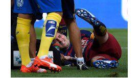 Alarma en la Selección: Messi salió lesionado a los 10 minutos de juego