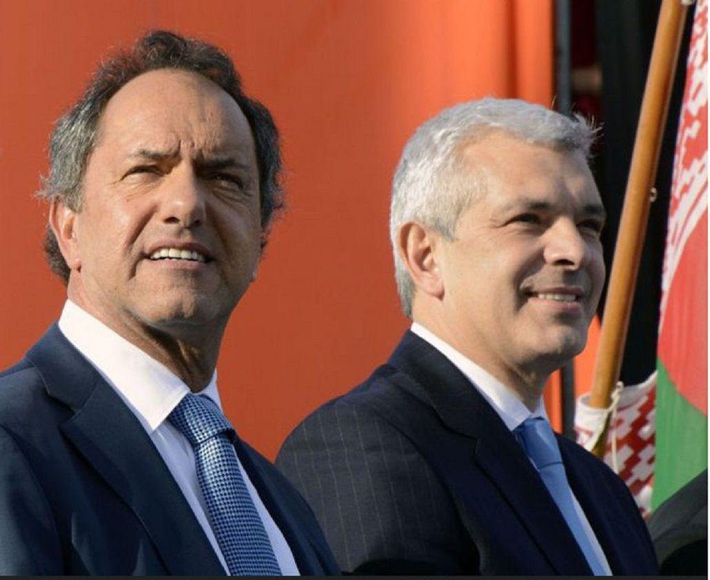 Domínguez, sobre la presencia de Buzzi en el acto de Scioli: Hay que tener la cabeza abierta