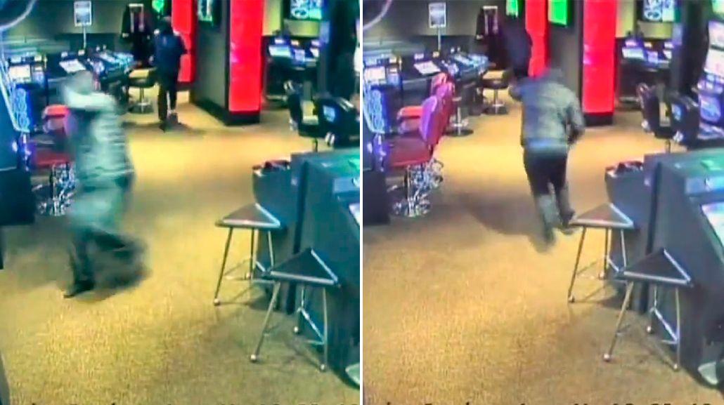 Enmascarados y con grandes cuchillos robaron un casino