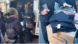 Secuestraron ropa por $100 mil en la calle Avellaneda