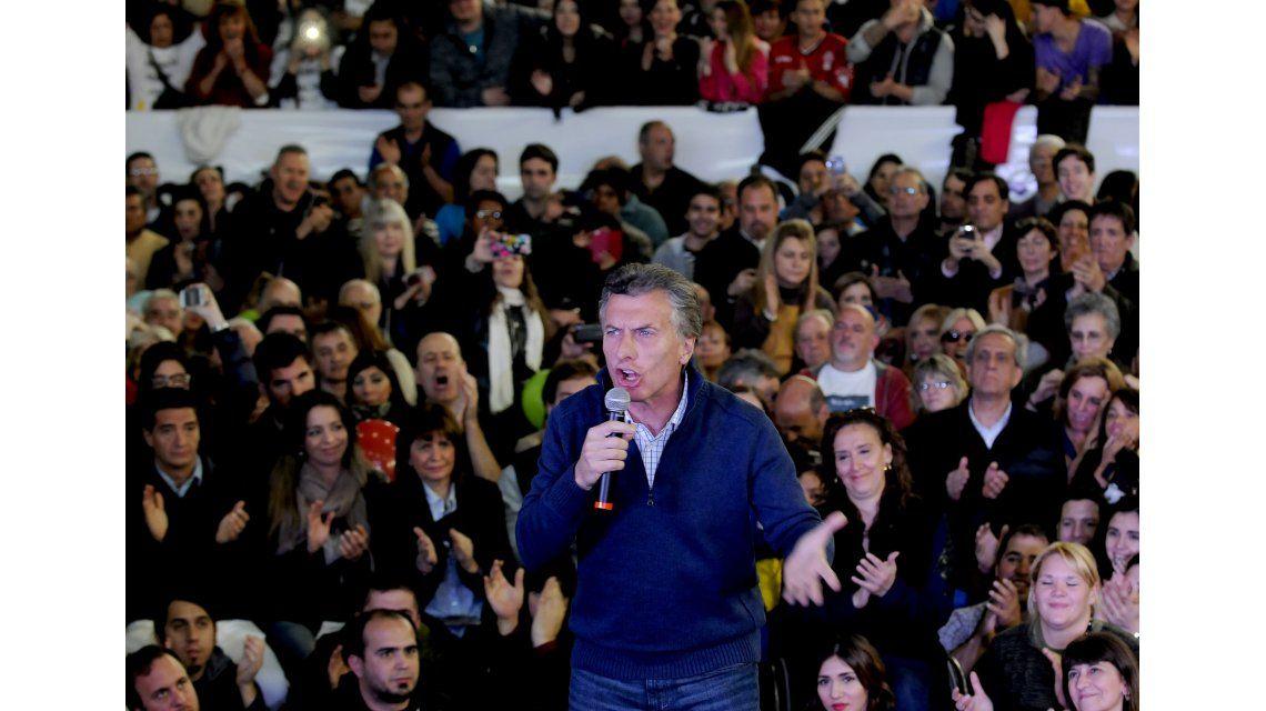Macri lanzó sus propuestas: Pobreza cero, derrotar al narotráfico y a unir a todos