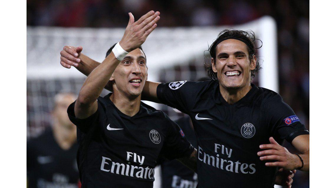 Con un golazo de Di María, el PSG debutó con una victoria ante Malmo en Champion