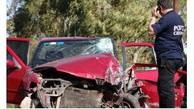 Un militar atropelló a su esposa y habría querido suicidarse en la ruta