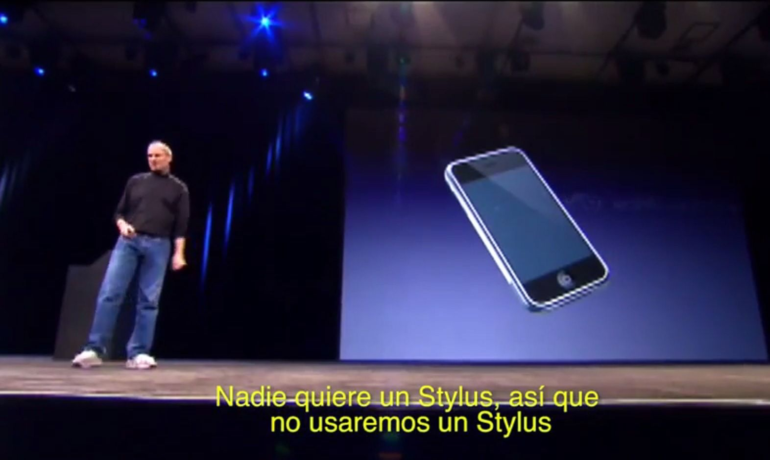 VIDEO: El iPad Pro tendrá un stylus: así hablaba Steve Jobs del tema en 2007