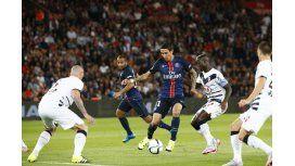 En el debut de Di María, el PSG regaló dos puntos por culpa de su arquero