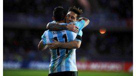Los 15 minutos de Messi y Agüero fueron mejores que los 75 de Messi y Tevez