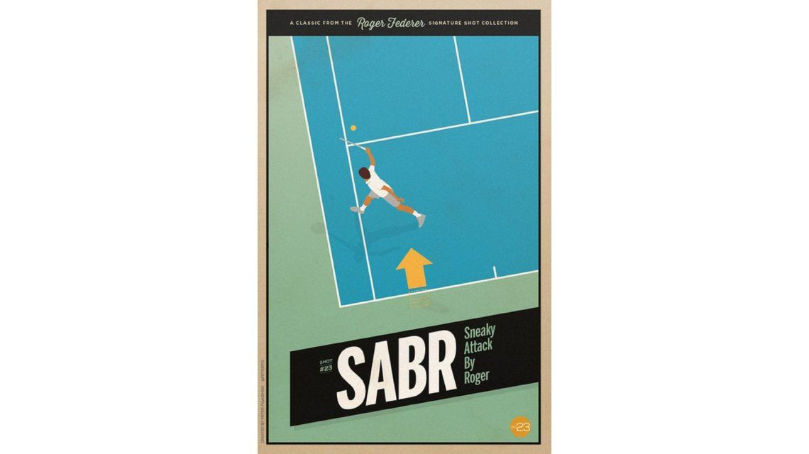 La jugada de Federer que revolucionó el tenis ya tiene nombre