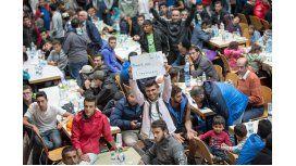 Austria transportó a más de 13 mil refugiados a Alemania