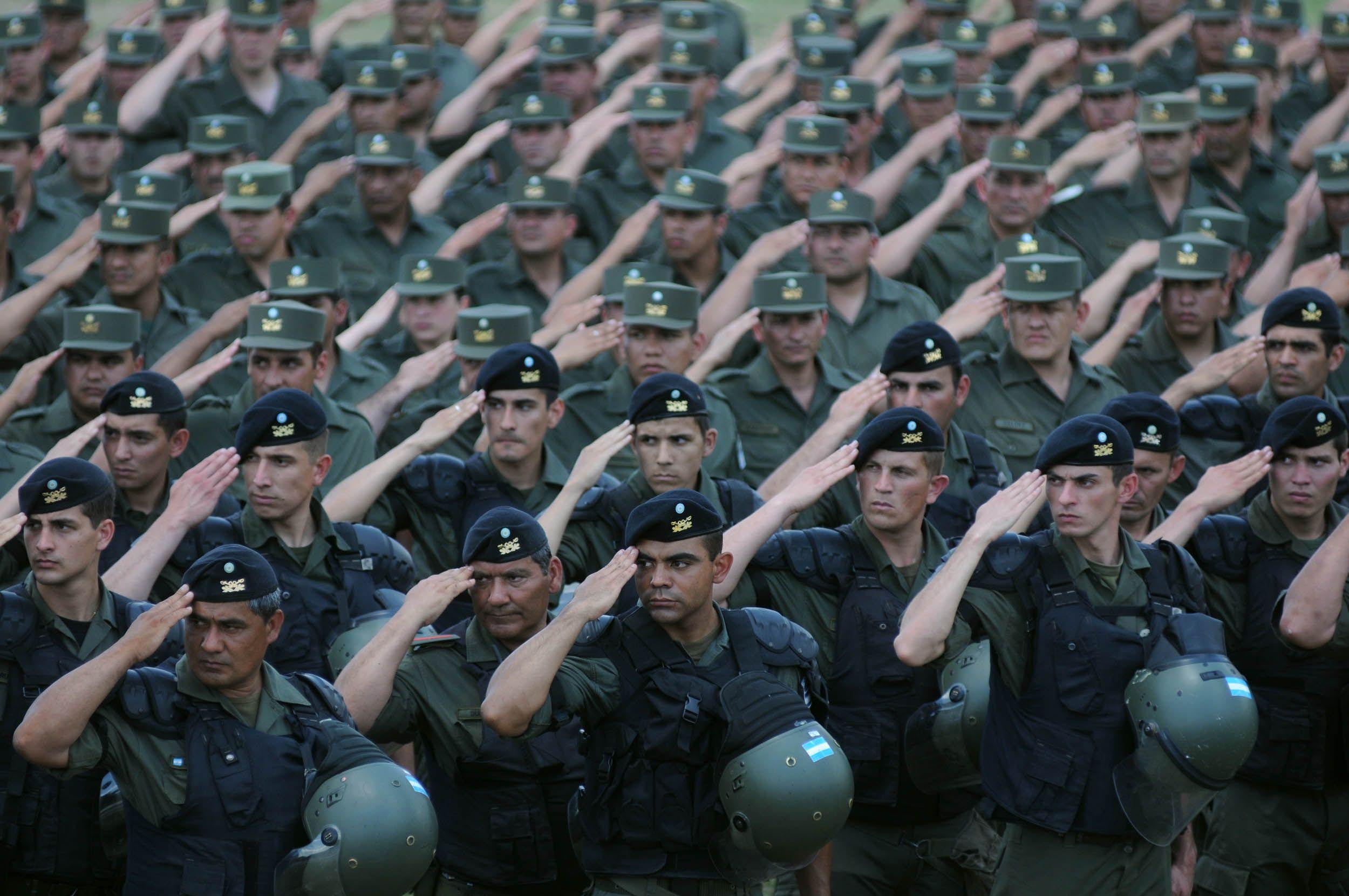 Desembarcan 1.590 efectivos para tareas de seguridad en el Conurbano