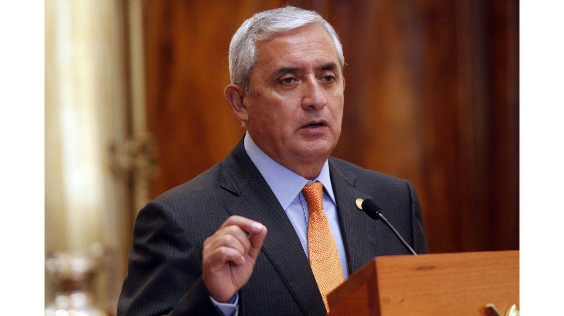 Renunció el presidente de Guatemala, Otto Pérez Molina