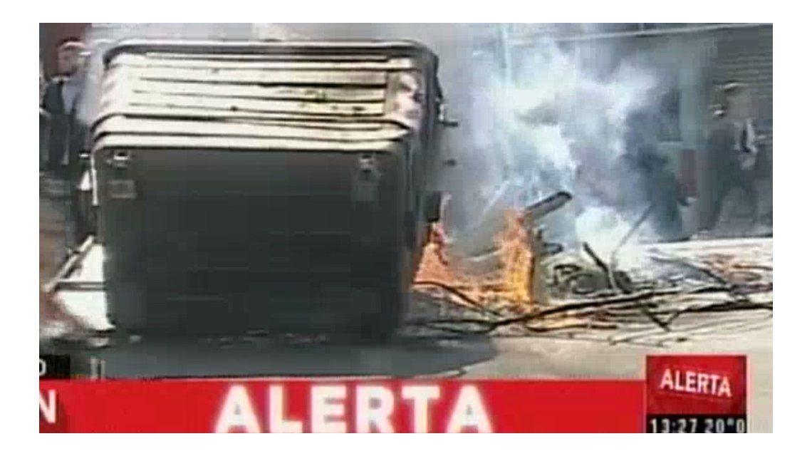 Incidentes en Villa Soldati por la muerte del chico que cayó de un balcón