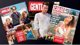 Mirá las tapas de revistas de esta semana