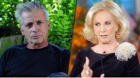 Romano también le pega Mirtha: Siempre fue homofóbica