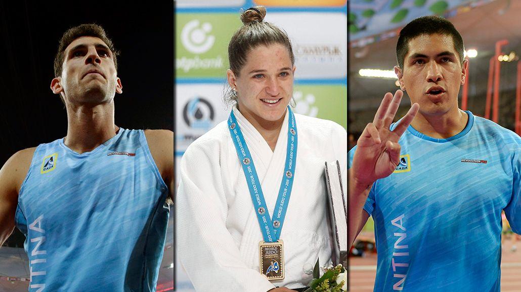 El deporte argentino, en lo más alto en una mañana para el recuerdo