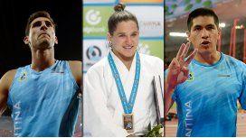 Histórico día del deporte argentino con Pareto, Toledo y Chiaraviglio